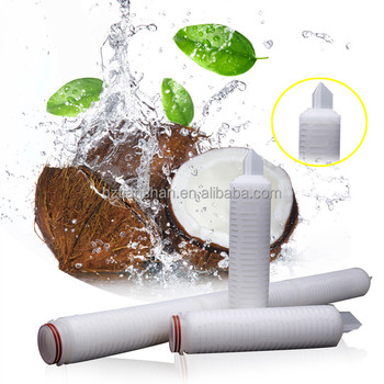 PP membrane Filter cartridge replacing plate filter for coconut oil Extraction