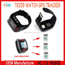 Newest TK209 Watch GPS Tracking Phone (Quad-band) Call GPS Tracking