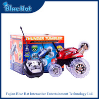 New design red fashion rc car toy with LED light