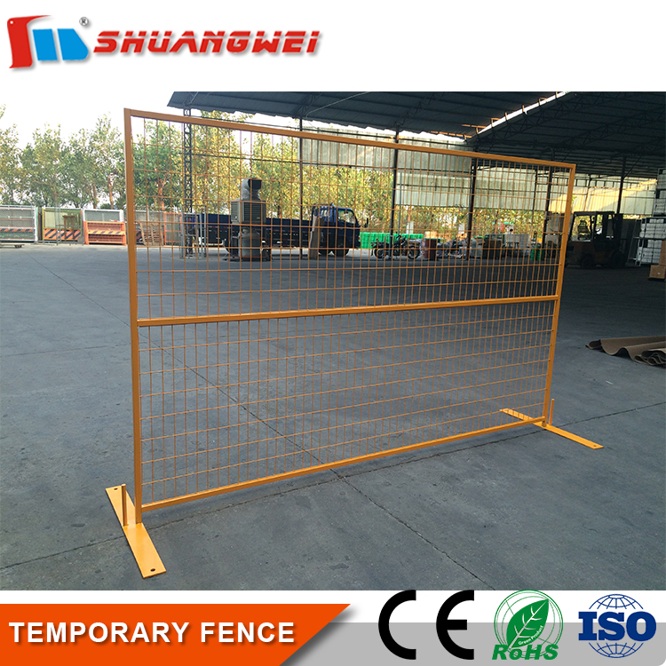 Wholesale Metal Steel temporary construction fence
