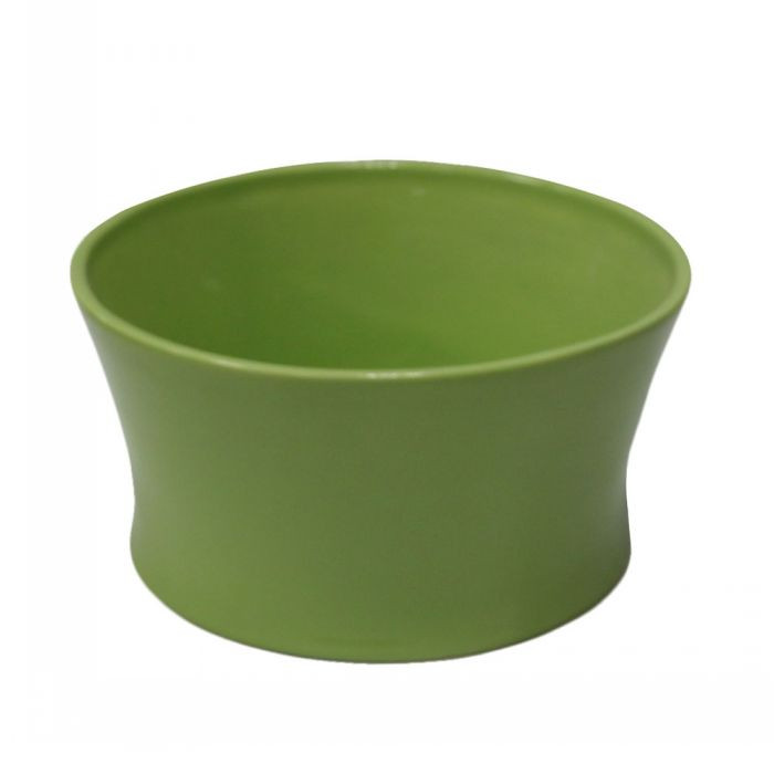 XT Home & Garden Widemouthed Bright Ceramic Pot Outdoor Planters