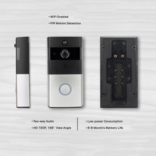 APP serviced apartment long range wireless video intercom doorbell peephole IP video door phone