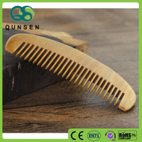 Hair and beard common wooden comb for mens hotel comb