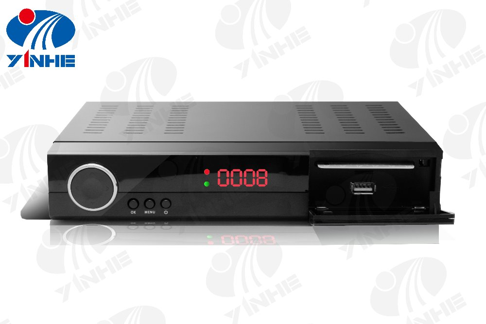 live streaming hd/sd DVBS digital satellite receiver conversor digital