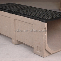 Polymer Concrete Channel With Ductile Iron