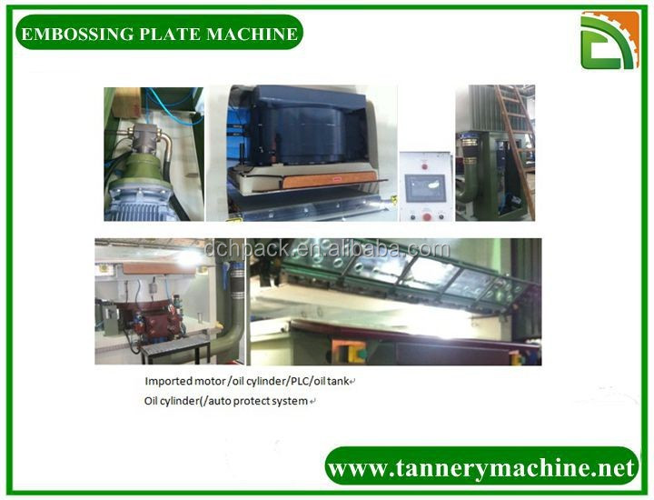 China best leather embossing machine