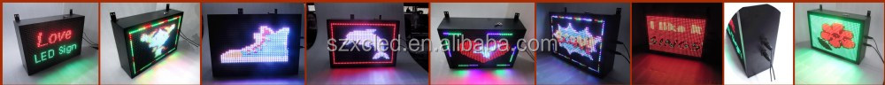 Outdoor Full color display P10-32x48RGB Time, date,temperature, graphic LED message sign board