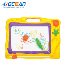 Reusable drawing for kids 3d magnetic pen erasable magic drawing board
