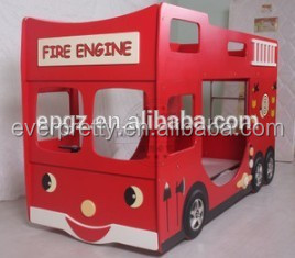 2014 Home Use Modern Fashionable Car Kids Bus Bunk Bed for Kids