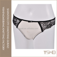 Oem good quality comfortable soft cotton lace briefs cheap girls tight panties
