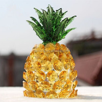 Crystal Pineapple In Carving Crafts Crystal