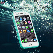New Waterproof Phone Case For Apple iphone7 For iphone 7 Waterproof Case Cover