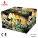 100 shots Cheap Square Consumer CE Cake Fireworks with effect time rain from Liuyang