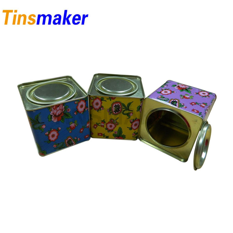 Wholesale Custom Printed Aluminum Storage Tin Boxes