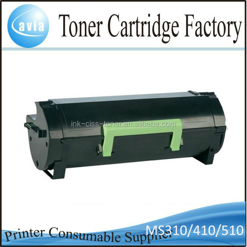 Black laser printer cartridge for Lexmark MS810 MS310 MS410 MS510