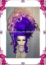Hot sale cheap colorful party wig