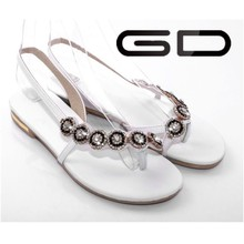 2015 latest style women new model flat sandals