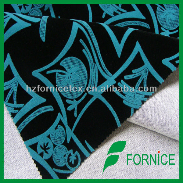flocked velvet fabric,fabrics wholesale overseas,wholesale Pakistan flocking fabric