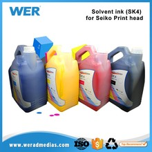 Best selling hot Wide format water based infinity sk4 solvent ink