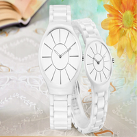 2015 New Arrival Fashion anticlockwise ceramic watch, Japan movement Ceramic Watch