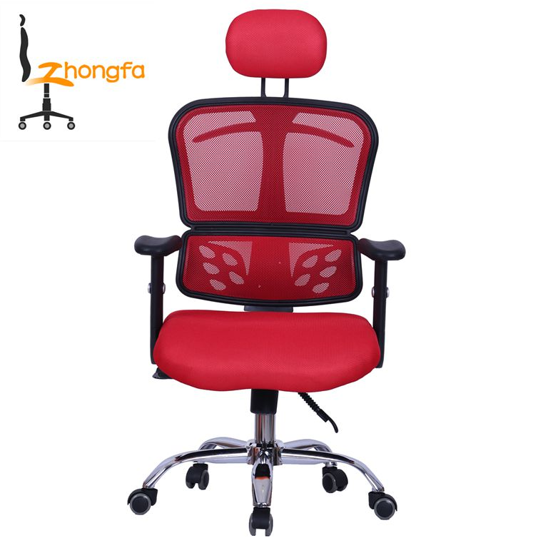 Cosy Korean mesh ergonomic office president chair with head support