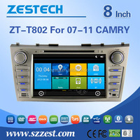 factory price in dash car dvd player For TOYOTA Camry 2007 2008 2009 2010 2011 support 3G audio DVB-T MP3 MP4 HDMI DVD function