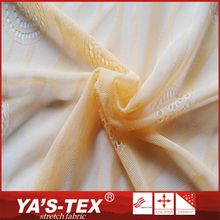 Fashion style lightweight soft touch polyamide lycra guipure lace fabric for fashion dress