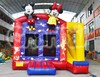 Hot selling air inflatable bouncer slide trampolin