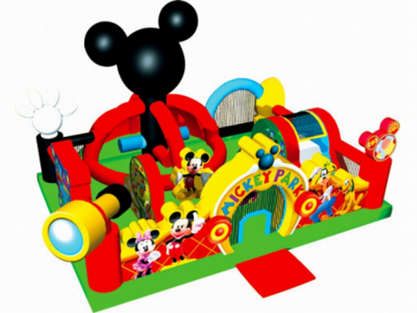 Inflatable Mickey Park Toddler Combo