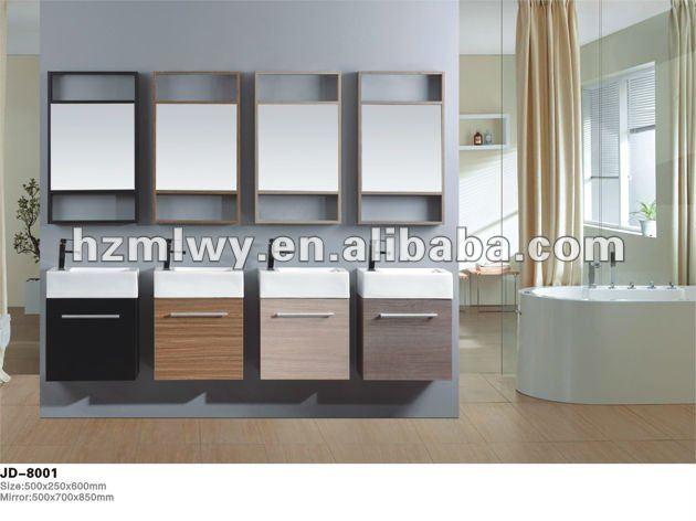 Gabinetes De Baño En Pvc:del baño del PVC del gabinete, Popular mueble de baño-Tocadores de