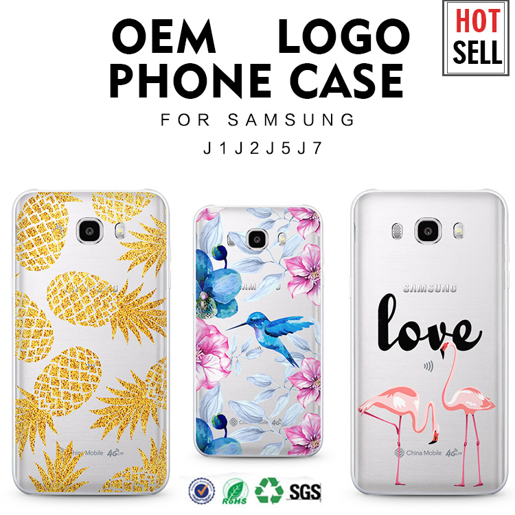 Hot selling back cover case for samsung galaxy j7 j5 j1 c5 phone case for samsung galaxy brand