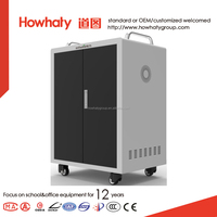Integrated Power Supply in Office Furniture Tablet Mobile Laptop charging Cart