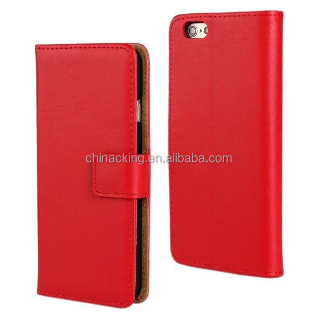 2015 New For iPhone 6 Flip Leather Wallet Case Cover