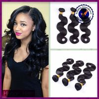 Hot sale new high quality unprocessed 100% virgin black girl hair extensions