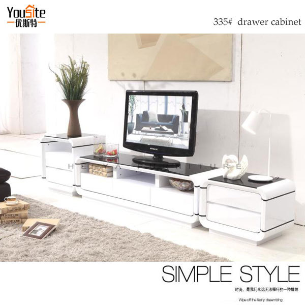 new modern wooden led tv stand tv table pictures