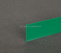 label holders for shelf/PVC adhesive price strip/plastic price strip