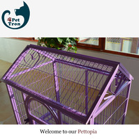 Competitive price professional new design square tube dog cage