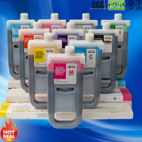 Compatible Ink Cartridge 700ML Pigment inks for iPF 8000 iPF9000 Plotters PFI701
