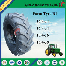 Tractor tyres Armour brand R-1, Top brand of Chinese tractor tyre 14.9 28