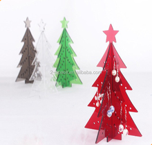 Assorted Colors Acrylic Modern Christmas Tree