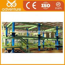 Kids Rope climbing ladders, Indoor ropes adventure courses equipment,