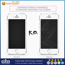 [GGIT] High Quality 2.5D 9H Tempered Glass Film Screen Protector for iPhone 5G 5C 5S