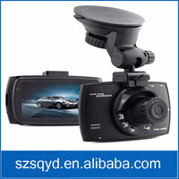 Night Vision car dvr with 6 LED Car Camera Recorder detector