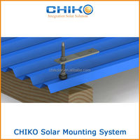 Solar Hanger Bolts For Metal Roofing Mounting System