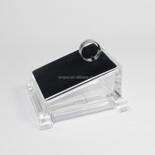 acrylic clear ring display stand ring display holder for jewelry shop