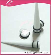Acrylic 10mm Magnetic ear Taper Expander