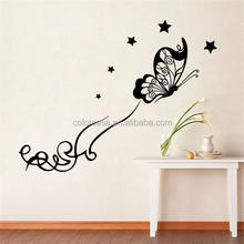 Colorcasa decorative wall sticker design butterflies for wall decal stickers (8491)