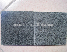 China Polished Outdoor Floor G612 Dark Green Granite Tiles On Sale