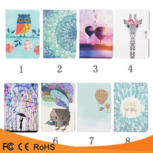 Hot selling flip PU Leather color paint tablet Case for Amazon Kindle fire HDX8.9