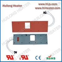 Silicone heater pad used in semiconductor industry